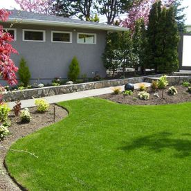 Garden Lawns and beds
