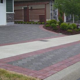 Red tiles Paving Stones